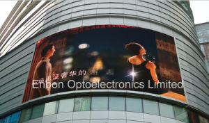 High Brightness P16 Outdoor Curved LED Display Billboard for Shopping Mall pictures & photos