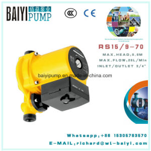 Hot Water Cooling Water Automatic Booster Circulation Shield Family Pump pictures & photos