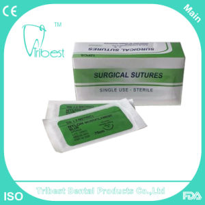 Disposable Dental Nylon Surgical Braided Sutures pictures & photos