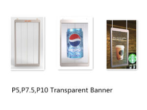 73 Inch Small/Attractive Transparent Banner for Chain Store pictures & photos