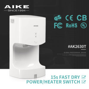 Most Favorite Single Jet Automatic Sensor High Speed Hand Dryer (AK2630T) pictures & photos