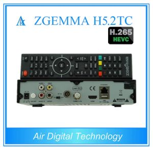 Italy Hot Sale Multistream Decoder Zgemma H5.2tc Linux OS Satellite/Cable Receiver Hevc/H. 265 DVB-S2+2*DVB-T2/C Dual Tuners pictures & photos