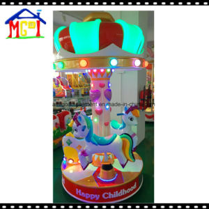 3 Seats Crown Carousel Kid′s Horse Ride pictures & photos