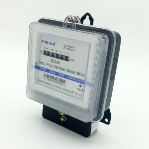Dds-8 Single Phase Two Wire Electrical Energy Meter with Iron Base pictures & photos