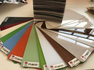 18mm MDF Board with Acrylic Surface pictures & photos