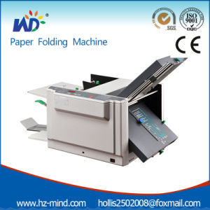 Automatic Paper Folding Desktop Paper Folder Office Equipment (WD-298A) pictures & photos