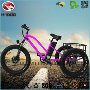 500W Rear Motor Tricycle Electric 3 Wheel Bicicleta pictures & photos