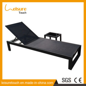 Outdoor Garden Patio Furniture Polywood Gradient Adjustable Aluminum Lying Bed Sun Beach Lounge Reclining Deck Chair pictures & photos