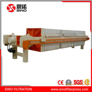 Hydraulic Membrane Filter Press for Tannery Wastewater Treatment pictures & photos