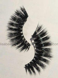 Wholesale High Grade Mink Fur False Eyelashes Super Thick Long Mink Lashes pictures & photos