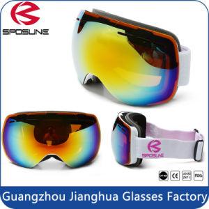 New Unisex Snowboard Skiing Ski Goggles Glasses Double-Lens Anti-Fog UV Eyewear pictures & photos