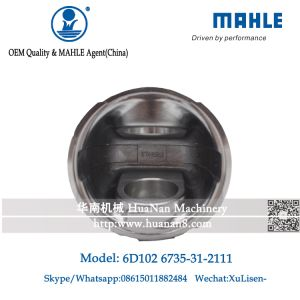 Mahle Piston S6d102 for PC200-6 Excavator 6735-31-2111 pictures & photos