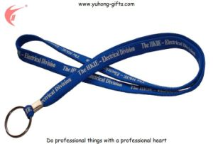 Promotional Polyester Lanyard with Dog Clip (YH-L1218) pictures & photos