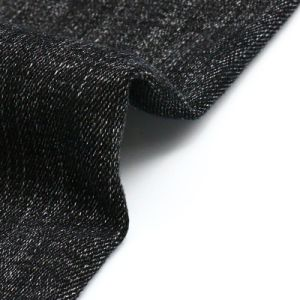 Black High Quality Discount Denim Fabric for Jeans pictures & photos