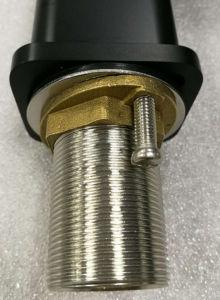 Australia Standard Watermark Santary Ware Brass Black-Plated Basin Tapware (CG4204B) pictures & photos