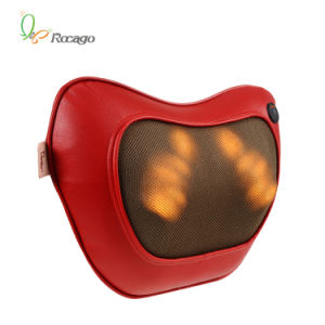 Original Design 3D Heating Therapy Neck Massager Pillow pictures & photos