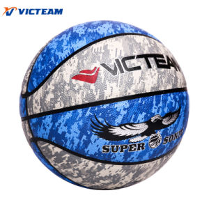 Standout PU Leather Custom Basketball for Exercise pictures & photos
