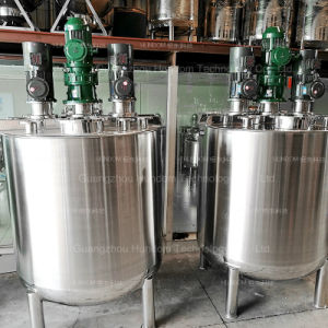 Stainless Steel Liquid Mixing Tank with Top Entry Agitator pictures & photos
