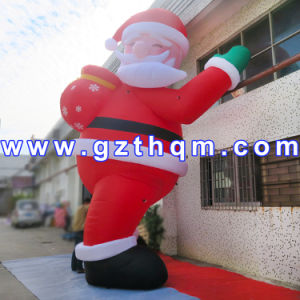 Inflatable Santa Claus 6 M High for Christmas Party/Giant Inflatable Santa Claus pictures & photos