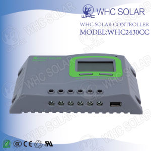 30A Best Price Solar Cell Controller with LCD Display pictures & photos