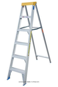 En131 3.2m Telescopic Ladder with High Quality Can Yu Supplier pictures & photos