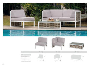 Outdoor Furniture Big Round Rattan Leisure Setional Sofa