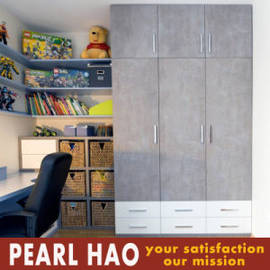 Professional Melamine Finish Openning Door Wardrobe pictures & photos