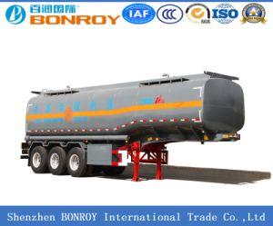 Carbon Steel 3 Axle 40m3 Fuel/Oil/Gasoline/LPG Tanker pictures & photos