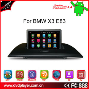 Hl-8813 Android 4.4 for BMW X3 E83 Car GPS Navigatior pictures & photos