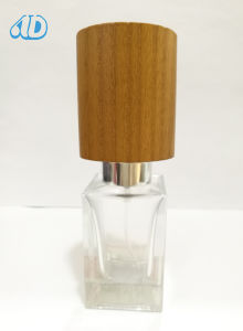 Ad-P457 Spray Perfume Glass Bottle Hand-Made Wooden Cap 30ml pictures & photos
