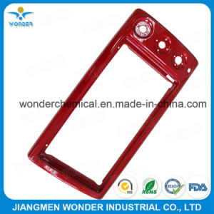 Mirror Red Candy Chrome Silver Red Powder Coating pictures & photos
