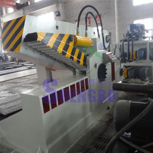 Alligator Hydraulic Waste Aluminum Tube Cutting Machine pictures & photos