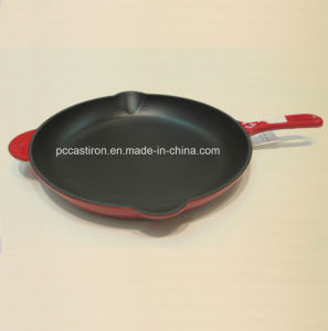 Ce Approved Cast Iron Frypan Dia 26cm Factory Price pictures & photos