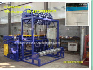China Factory Wire Mesh Netting Machine for Grassland Field/Animal Fence (XM-3001) pictures & photos