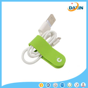 Multi-Color Customize Logo Silicone Multifunctional Cable Winder pictures & photos