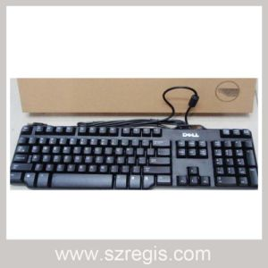 Waterproof and Dustproof Design USB Wired Office Slim Computer Keyboard pictures & photos