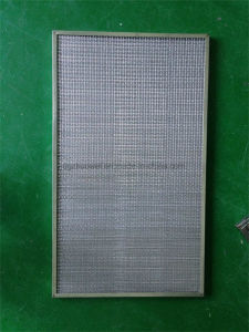 Washable Panel Metal Mesh Coarse Air Filter for Refrigerator Filtration System pictures & photos