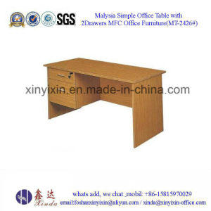 China Factory Furniture Low Price Office Computer Desk (MT-2426#) pictures & photos