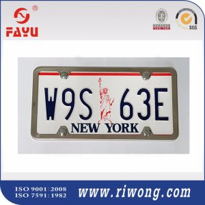 Matte Black License Plate Frame with 2 Holes pictures & photos