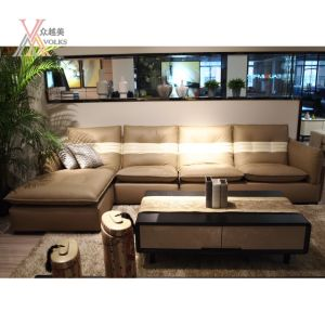 Modern Fashion Leather Sectional Sofa (1680A) pictures & photos