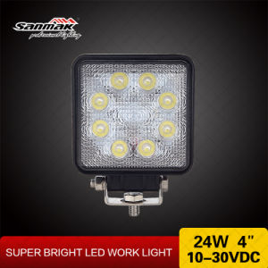 """4"""" 24W Crree Offroad High Output LED Work Light pictures & photos"""