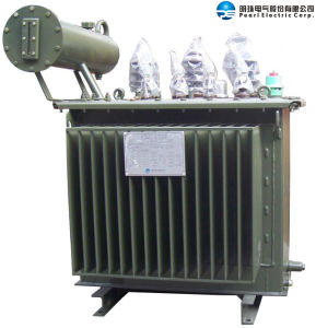 Oil-Immersed Distribution Transformer with Corrugated Fins pictures & photos