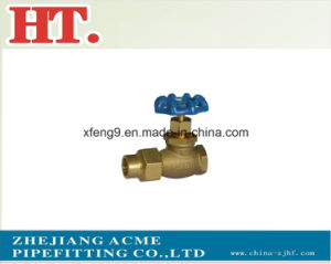 Forged Brass Flare Stop Valve pictures & photos