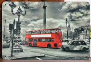 Automobile Theme Hotel Decoration Vintage Tinplate 20*30cm pictures & photos