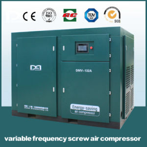 Twin Screw Single Stage Air End High Efficient Permanent Magnetic Variable Frequency Air Compressor pictures & photos