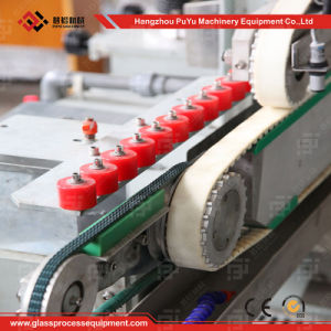 Glass Straight-Line Round Double Edger for Photovoltaic Modules Glass pictures & photos
