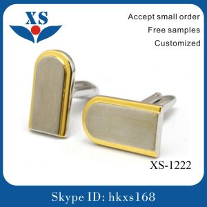 Novelty Luxury Stainless Steel Custom Men Cufflink pictures & photos