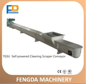 Horizontal Scraper Chain Conveyor (TGSU20) for Fish and Aquatic Animal Feed pictures & photos