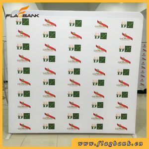 Tension Fabric Frameless Advertising Display Stand/Waveline pictures & photos