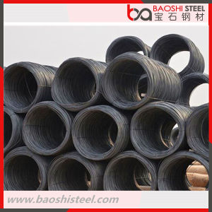 SAE1008 Hot Rolled Deformed Steel Wire Rod pictures & photos